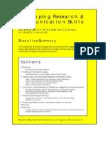 Dev Skills for Learning Doc