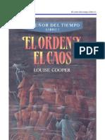 Cooper, Louise - El orden y el caos (El Señor del tiempo - libro 3 de 3) (pdf)