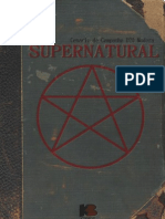 CABRAL, Tiago. D20 Modern Supernatural v0.3