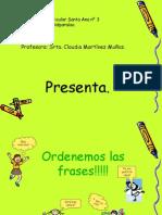 Ordenemos Las Frases!!!!!