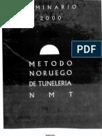 Seminario Metodo Noruego de Tuneles