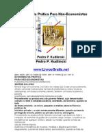 Economia Na Prática Para Não-Economistas - Pedro P. Kudlinski-www.LivrosGratis