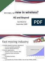 4G and Beyond