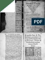 Tratado de Las Confituras - Michel de Nostre Dame Nostredamus 1552