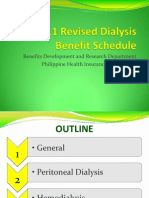 2011 Revised Dialysis Benefit Schedule