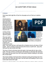 Hubpages.com-The Love of the New World Faith of God Jesus Humanity