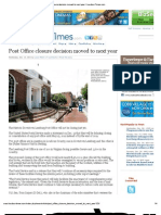Post Office Closure Decision Moved to Next Year _ LoudounTimes