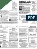 January 8 Bulletin