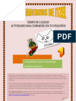 Los Cuadernos de Itzel - Mundo Magico - Colorear