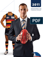 2011 Adelaide Annual Report