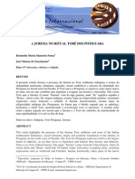 Microsoft Word - A Jurema No Ritual Tore Dos Potiguara