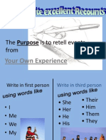 Recount Presentation