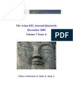Asian EFL Journal (7-4) Des 2005