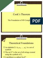 Cooks Theorem