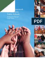 Health Framework for California Public Schools