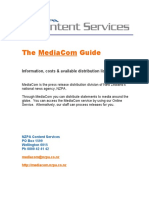 Mediacom Distribution Guide