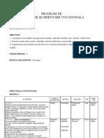 Program de Consiliere de Grup OSP