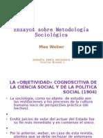 WEBER - Ensayos sobre Metodología Sociológica