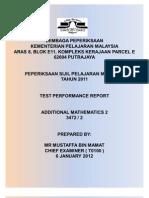Test Performance Report