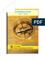 EDB Strategic Plan 2011-2015