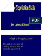 Effective Negotiation Skills STUDENTS