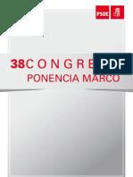 Ponencia Marco 38 Congreso