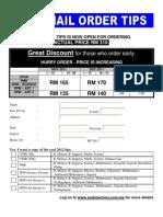 Mail Order Form 2012