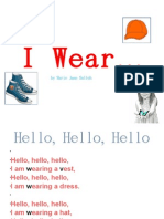 I Wear...