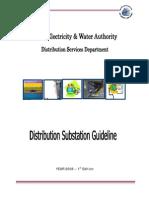 Distribution Substation Guideline- Of 11-22 KV Substation-26 01 2009