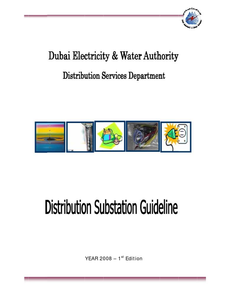 distribution substation guideline of 11 22 kv substation 26 01 2009 rh pt scribd com