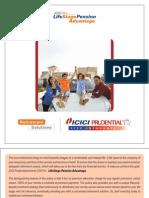Icici Brochure- PENSION PLAN ULIP