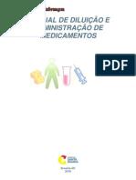 MANUAL DE DILUIÇÃO DE MEDICAMENTOS