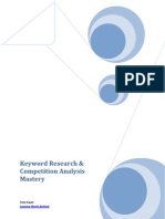 Keyword Research Competition Analysis Mastery