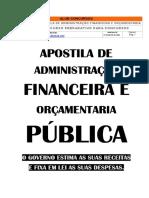 ApostilaDeAdministracaoFinanceiraOrcamentaria