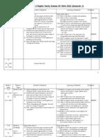 Rancangan Tahunan Bahasa Inggeris SK Tahun 2 KSSR 2012