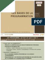 Bases de Programmation c