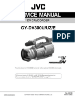 JVC GY DV300U UZ E Service Training Manual