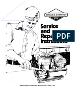Service Manual for Briggs and Stratton 16 Hp Twin Cylinder