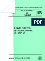 Monografia - China en El Sistema de Seguridad Global Del Siglo XXI