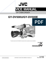 JVC GY-DV500U DV500E Service Training Manual