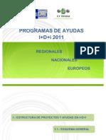 Plan Ayudas i+d+i 2011-Ct Innova