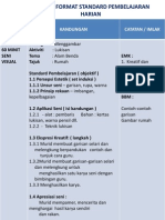 Contoh Format Rph Dsv Kssr