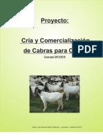 Proyecto Cria de Cabras Para Carne