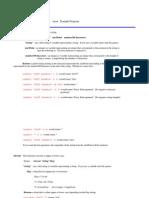 Autolisp Notes