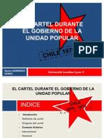 El Cartel Durante La Durante El Gobierno de La Unidad Popular en Chile