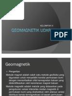 Tugas Geofisika - Geomagnetik Survey Udara