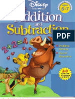 Disney_Addition & Subtraction