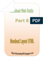Part 8 Cara Buat Layout Di HTML