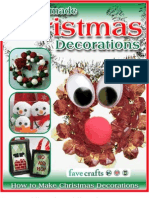 18 Homemade Christmas Decorations How to Make Christmas Decorations eBook