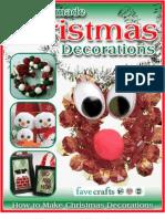 18 Homemade Christmas Decorations How to Make Christmas Decorations eBook